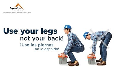 Poster - Use Your Legs English/Spanish