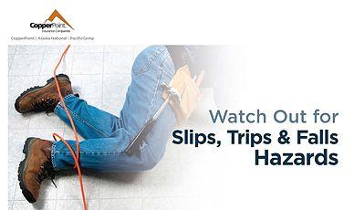 Poster - Slips, Trips & Falls